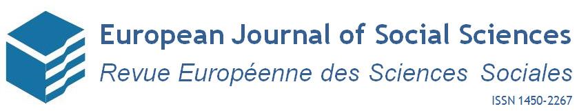 European Journal of Social Sciences